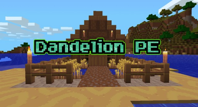 Dandelion [16×16] | Minecraft PE Texture Packs