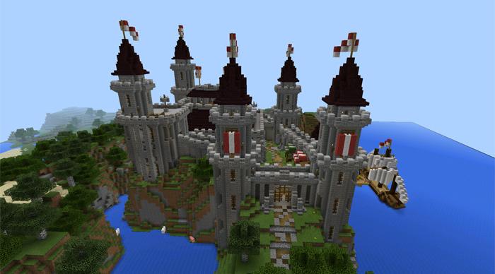 . Darkthorn Castle  Creation    Minecraft PE Maps