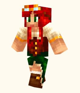 Full List Of Minecraft PE Girl Skins Archive - Skins para minecraft downloads