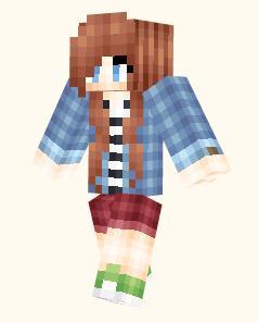 Full List of Minecraft PE Girl Skins 10+ | Archive