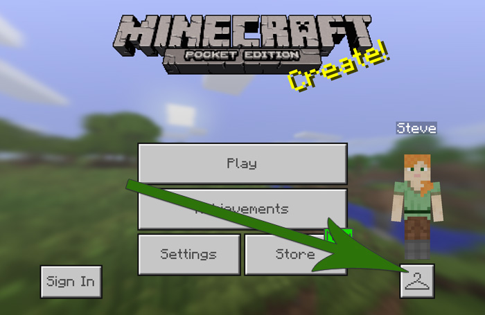 How To Install Minecraft PE Skins For IOS MCPE DL - Skins para minecraft 1 8 browse