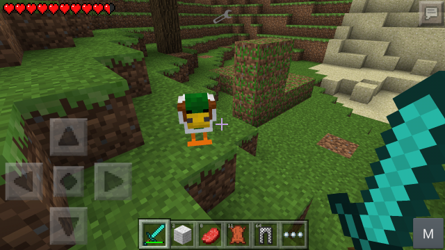 How Do U Eat Food In Minecraft Pe