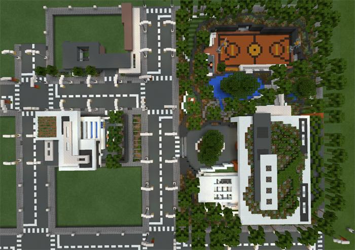 minecraft modern village map download