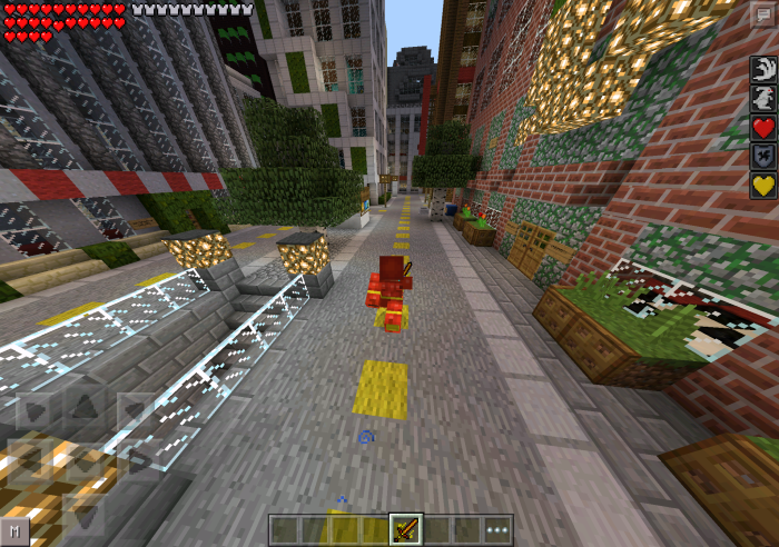 the flash pocket edition mod  mcpe  mcpedownload