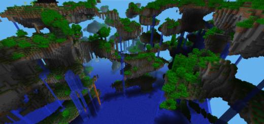 minecraft pe island seed floating