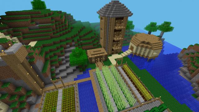 Epic Survival Map Minecraft Pe Maps