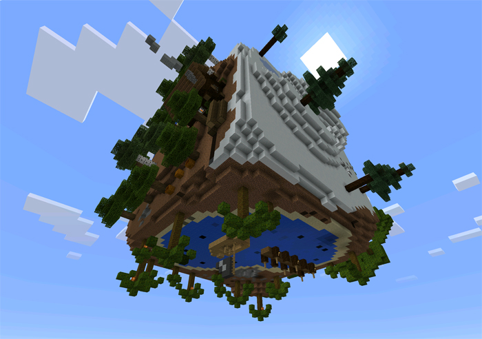 The cube creation survival minecraft pe maps the cube creation survival sciox Gallery