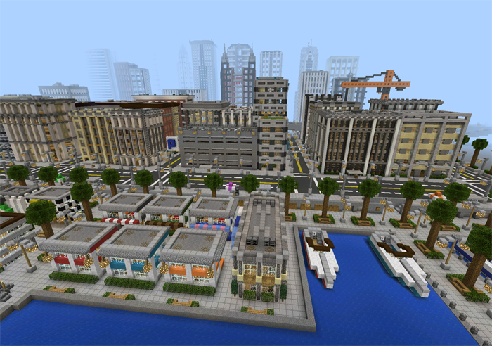 Universal City [Creation] | Minecraft PE Maps