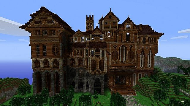Herobrine's Mansion [Creation] | Minecraft PE Maps