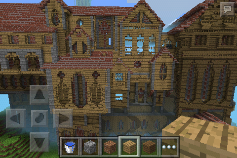 Herobrine S Mansion Creation Minecraft Pe Maps