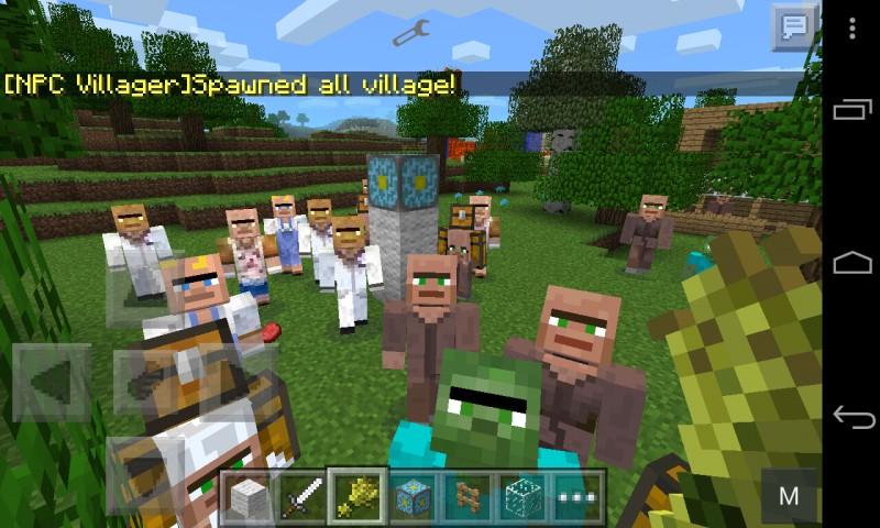 Villagers Mod Minecraft Pe Mods Addons