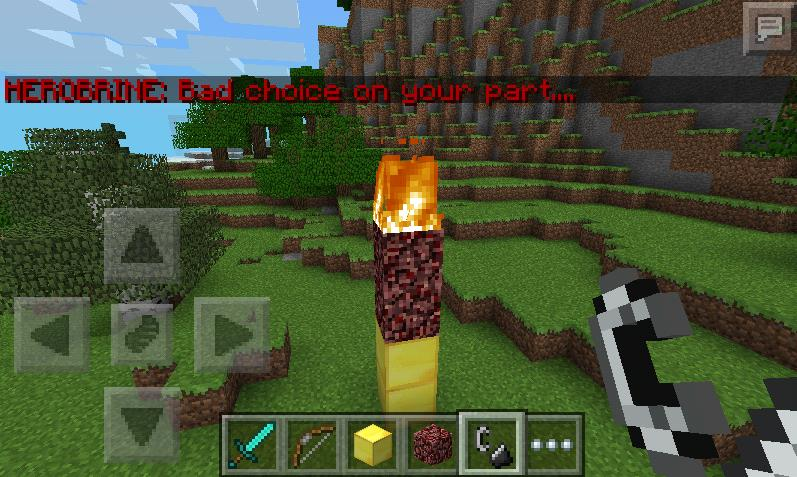 Lord herobrine minecraft pe mods addons lord herobrine publicscrutiny Choice Image