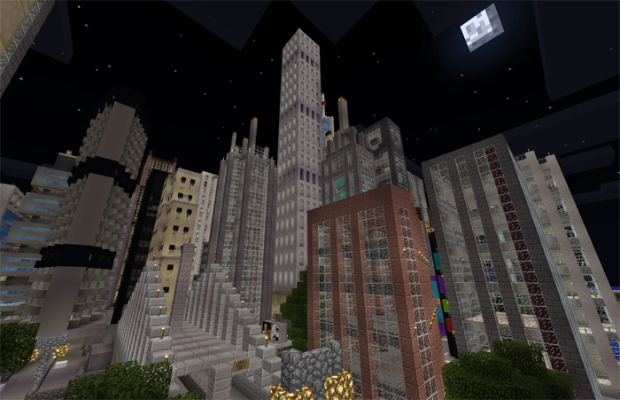 Mine York City Creation Survival Minecraft PE Maps