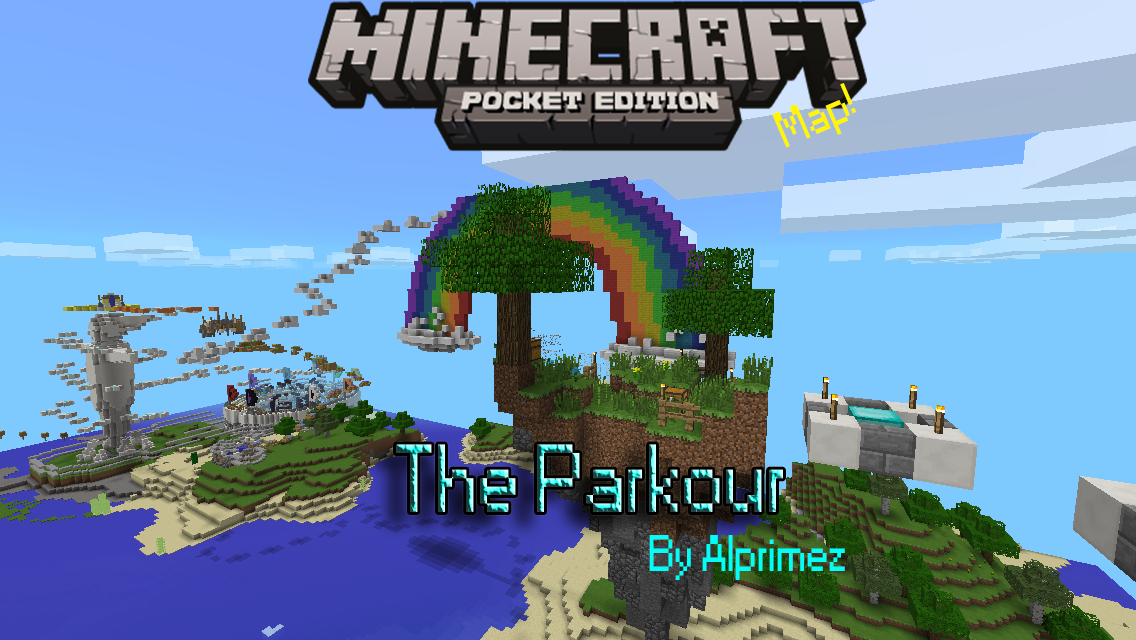 The Parkour Parkour Minecraft PE Maps - Coole maps fur minecraft pe