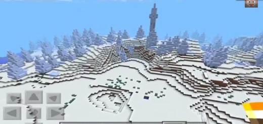 its a go: Ice Spikes Close to Spawn