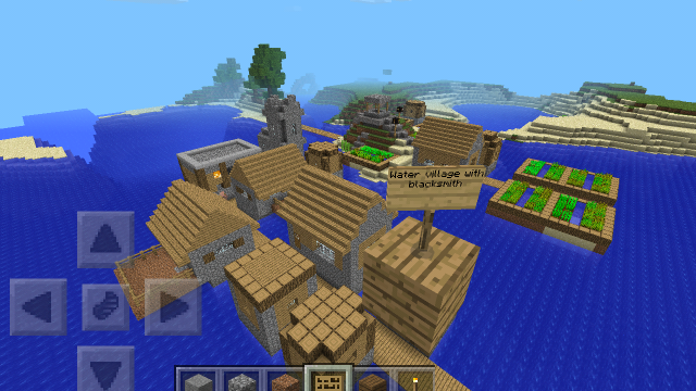65603: Flooded Village | Minecraft PE Seeds