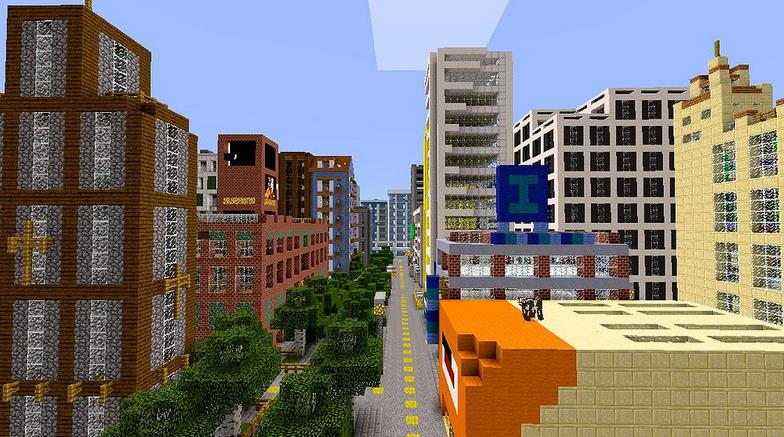 NewBloxten City [Creation] | Minecraft PE Maps on