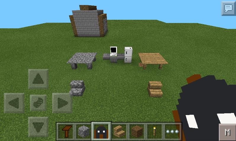 Minecraft Pe Furniture furniture mod | minecraft pe mods & addons