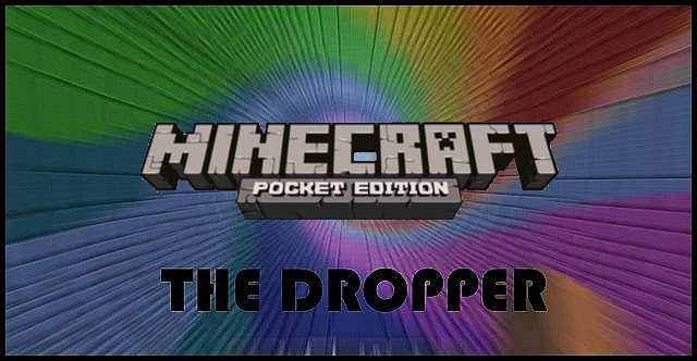 how to get the dropper on minecraft pe seed
