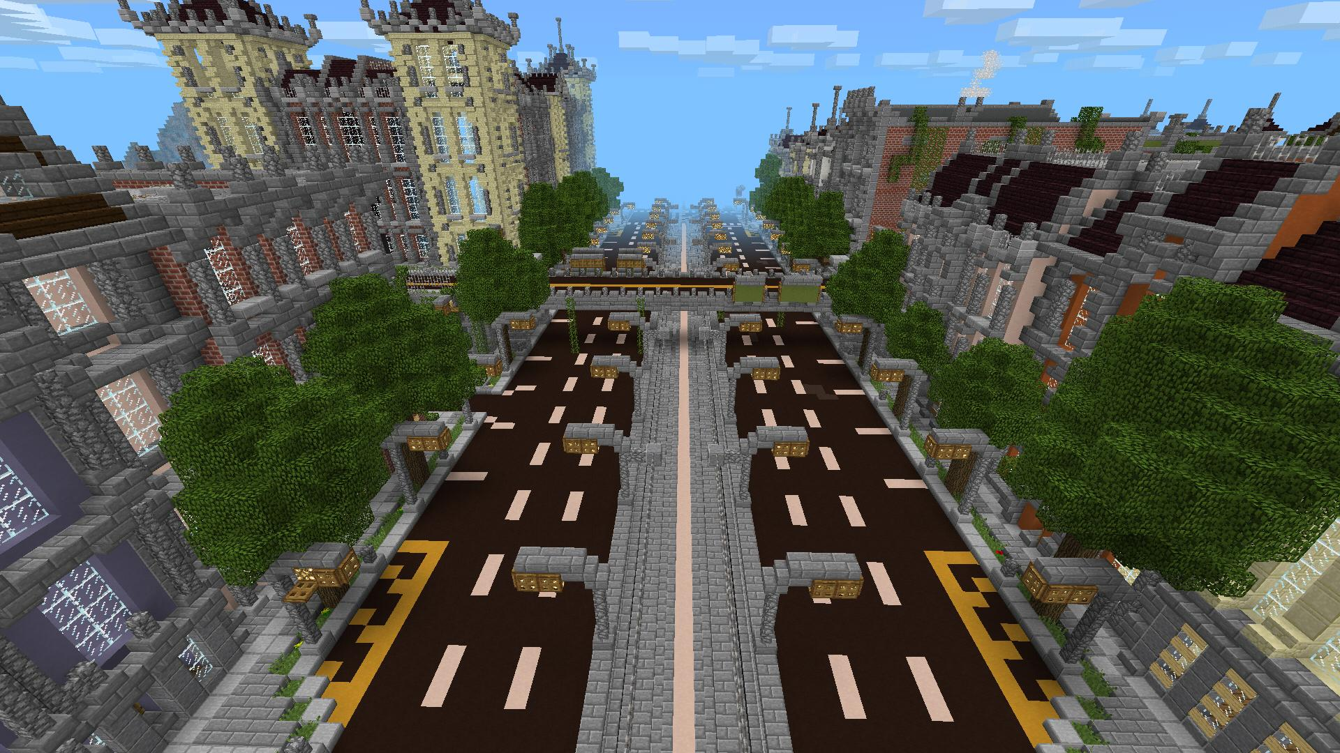 New Silverhills City [Creation] | Minecraft PE Maps on