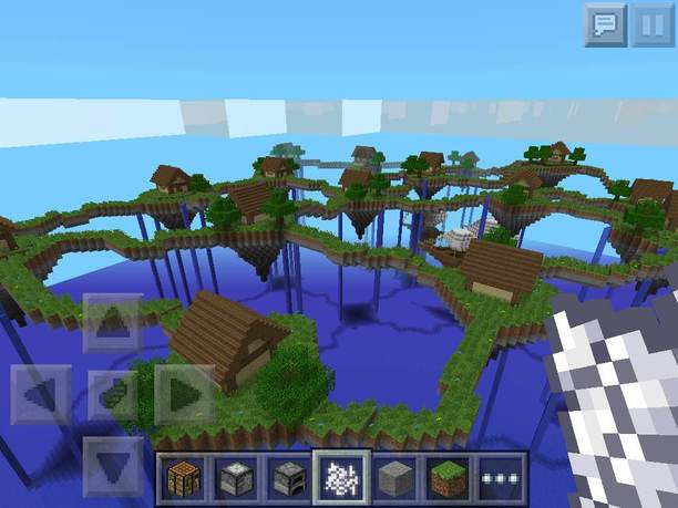 how to make a map in minecraft pe creative mode