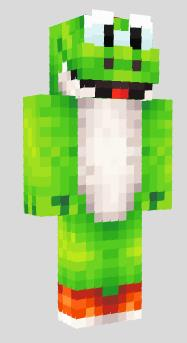 how to make a mario skin in minecraft