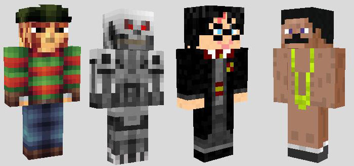 Movie Character Skins Archive - Skins para minecraft pe terror