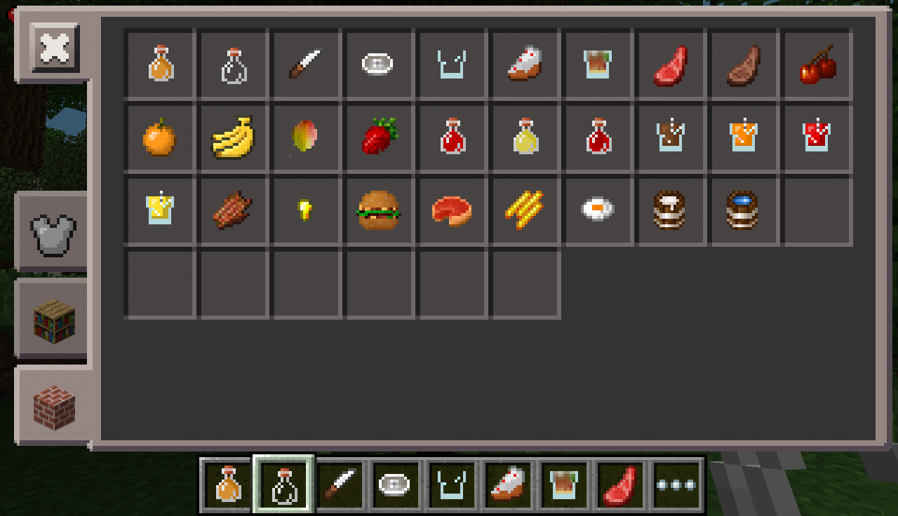 much food mod  minecraft pe mods  addons - food