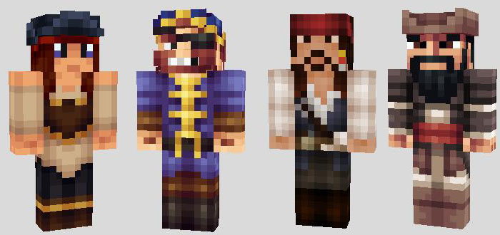 Pirates Yarr Archive - Skin para minecraft pe de freddy