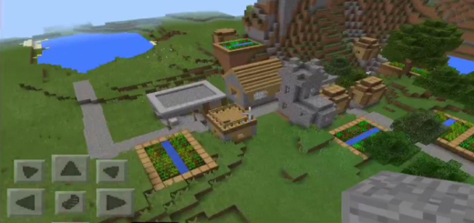 bruh: Village at Spawn (Awesome Chest!)
