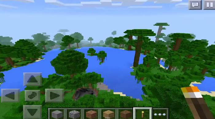 Nether: Jungle Village & Diamonds | Minecraft PE Seeds