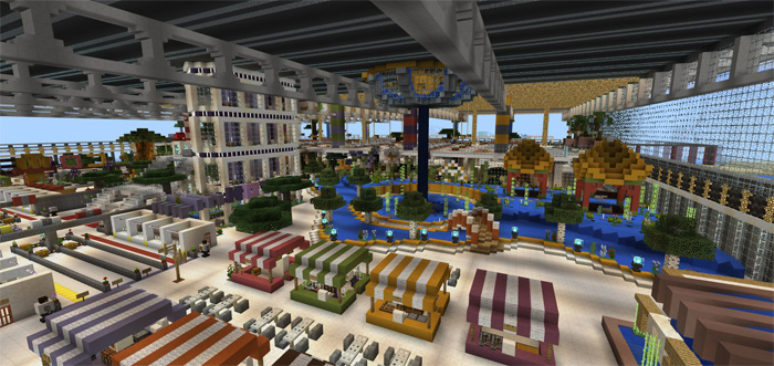 how to build a minecraft airport