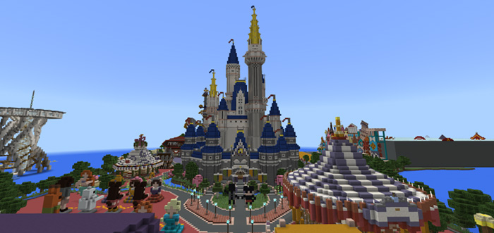 Egaland creation minecraft pe maps disneyland is now also in egaland gumiabroncs Image collections