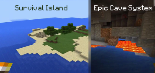 Aldea Plox: Survival Island & Epic Cave System (Diamond, Gold & More!)