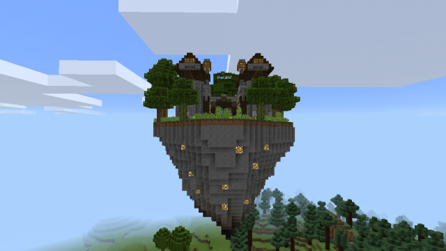 Triangular Floating Island