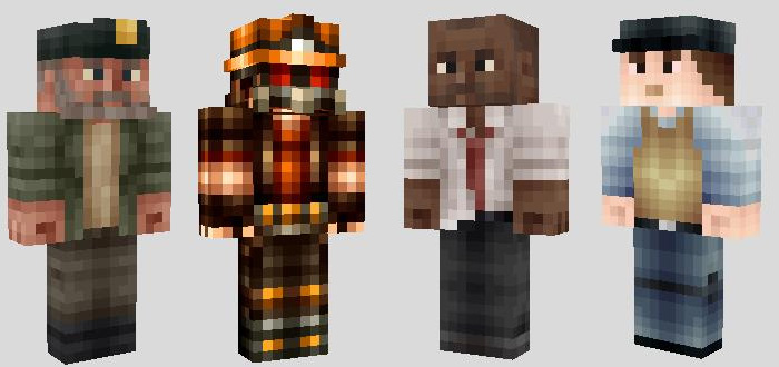 Survivor Skins Archive - Zombey skin fur minecraft pe
