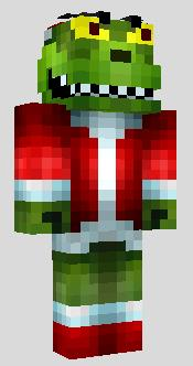 Minecraft Christmas Skins.Christmas Skins Archive