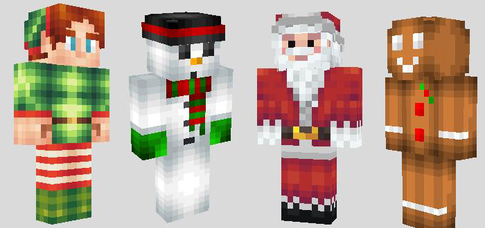 Christmas Skins Archive - Skins para minecraft pe red