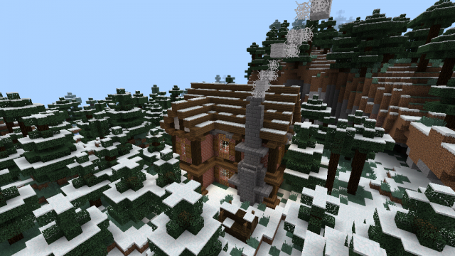Minecraft Christmas Houses.Christmas Home Creation Minecraft Pe Maps