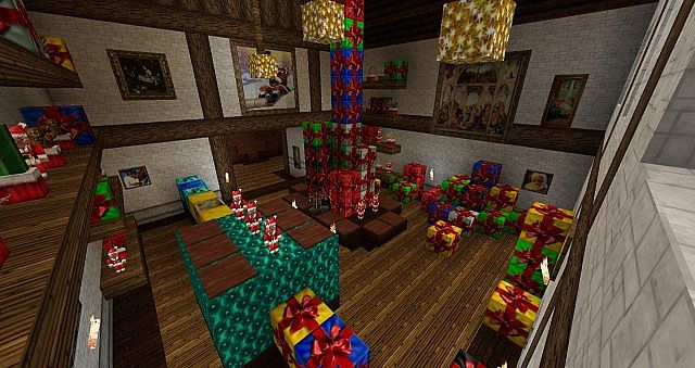 Christmas Texture Pack [64×64] | Minecraft PE Texture Packs