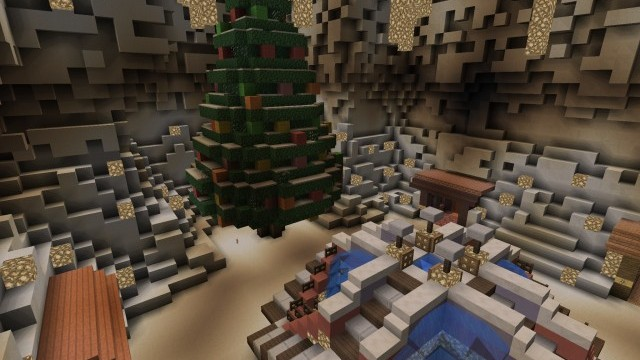 Christmas Minigames [Minigame]   Minecraft PE Maps