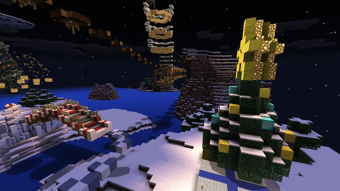 The Parkour Christmas [Parkour] | Minecraft PE Maps