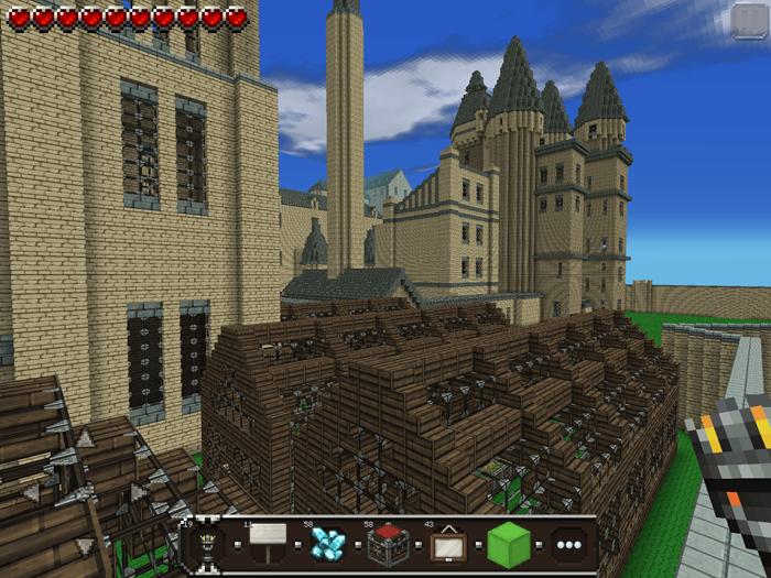 minecraft hogwarts map seed