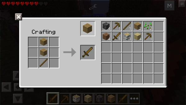 How To Build Crafting Table In Minecraft Xbox One