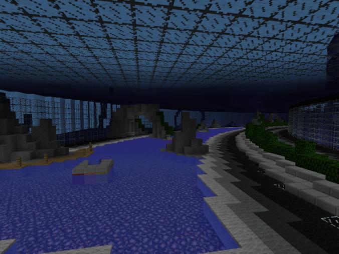 Underwater City Creation Minecraft Pe Maps