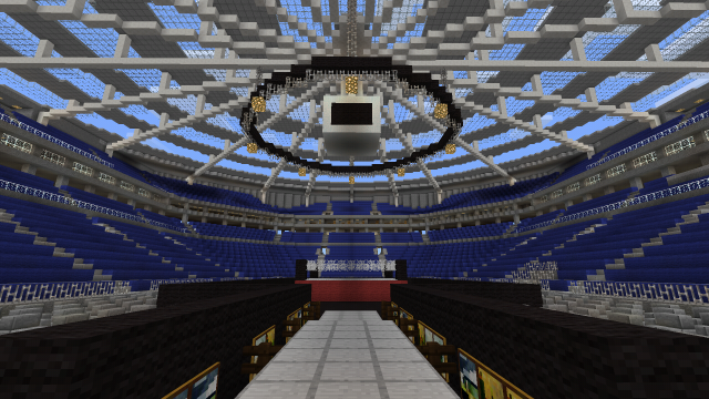 WWE RAW Arena [Creation] | Minecraft PE Maps