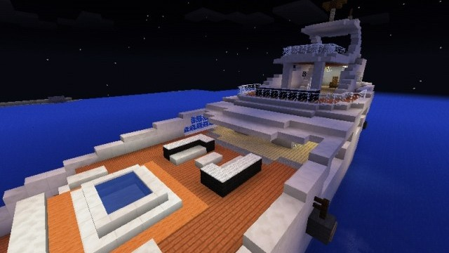 minecraft pe boat map download