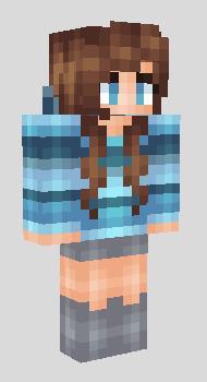 steampunk girl minecraft skin download