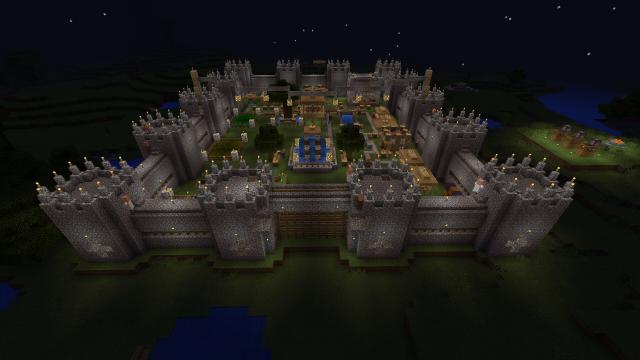 How To Build A Drawbridge In Minecraft Pe