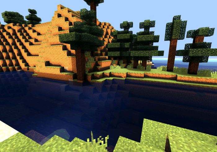 minecraft pe shaders texture pack